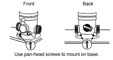 Diagram-mount